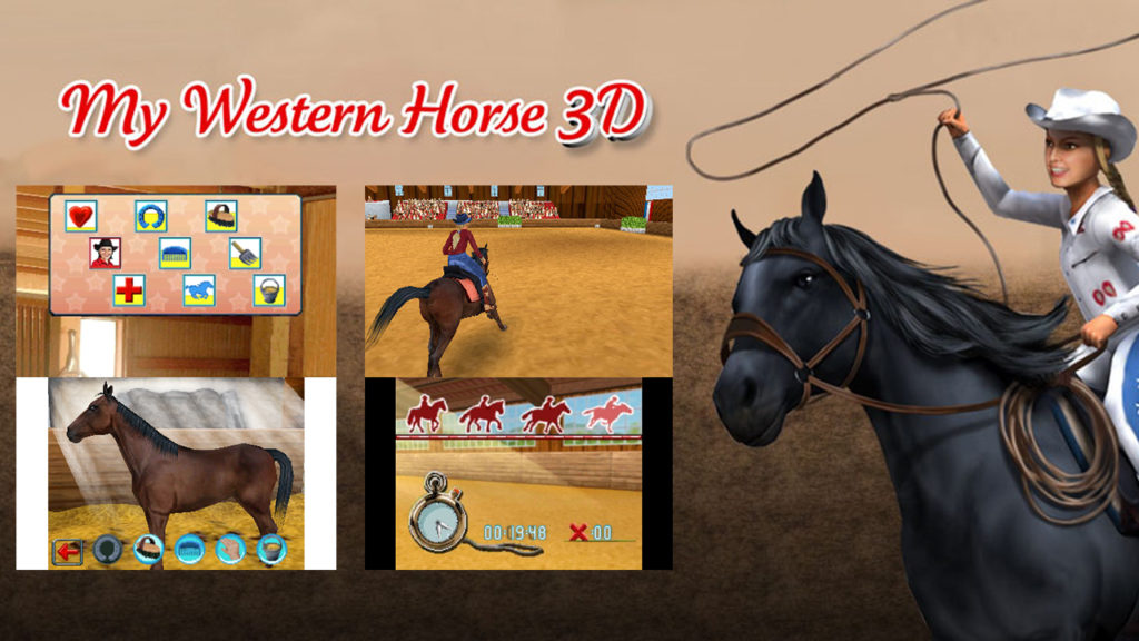 Western Horse 3D 1