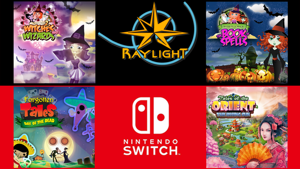 NEW NINTENDO SWITCH TITLES!