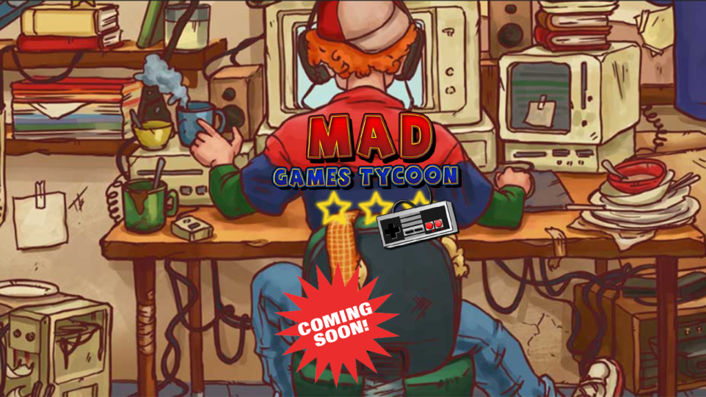 Mad Games Tycoon out on 12th of November all consoles