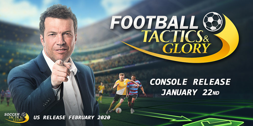 Football Tactics & Glory Release date revealed!